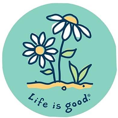 Amazoncom Life Is Good Unisex Growing Flowers Sticker