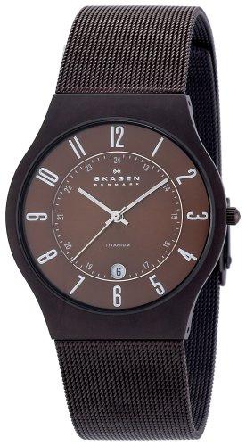SKAGEN (スカーゲン) 腕時計 basic titanium mens 233XLTMD ケース幅: メンズ [正規輸入品]