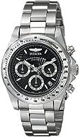 Invicta Speedway 9223 40 Silver Steel Bracelet & Case Mineral Men's Quartz Watch