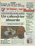 AUJOURD'HUI [No 16305] du 05/02/1997 - LOGEMENT - L'ACCES AUX HLM VA ETRE FACILITE POUR LES PLUS DEMUNIS - VACANCES SCOLAIRES - UN CALENDRIER ABSURDE - CINEMA - MICHAEL JORDAN AU SECOURS DE BUGS BUNNY - TAPIE RESTE EN PRISON - SON POURVOI EST REJETE - SALAIRES - LA COLERE DES FONCTIONNAIRES - TERMITES - 50 DEPARTEMENTS INFESTES - LES SPORTS - FOOT COUPE DE FRANCE...