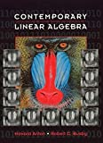 img - for Contemporary Linear Algebra book / textbook / text book