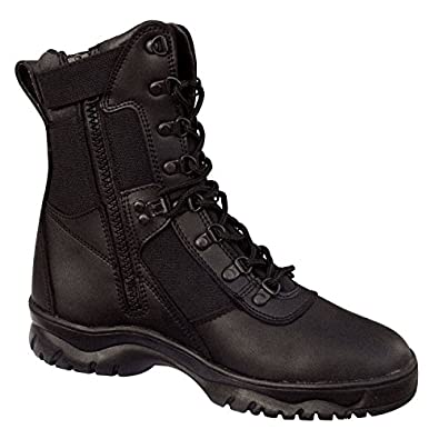 "Men's Rothco Black 8"" Forced Entry Tactical SZ - 5M"