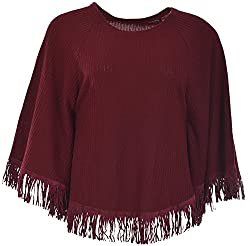 Sahiba Fashions Women's Sleeveless Top (Red)