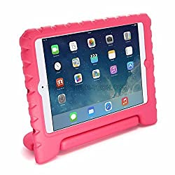 CyberTech EVA Kids Thick Foam Soft Safe Handle Stand Case Cover for iPad Air/ iPad 5 (iPad Air, Pink)