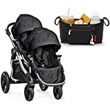 2015 Baby Jogger City Select with Second Seat, Onyx and Universal Parent Console Bundle