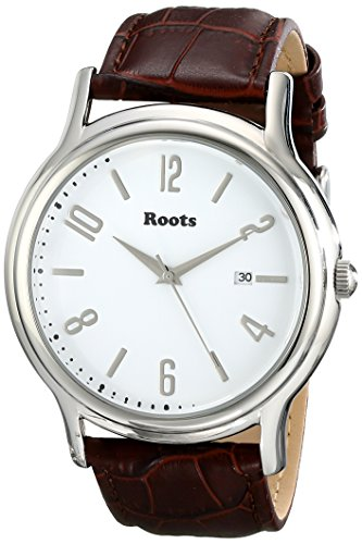 Roots Women's 1R-PR201WH3C Cache Analog Display Japanese Quartz Brown Watch (Black Watch Of Canada compare prices)