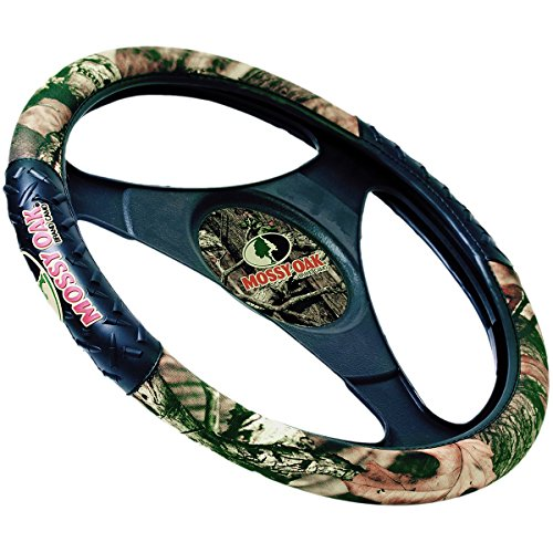 Mossy Oak Two-Grip Steering Wheel Cover (Steering Wheel Covers For F150 compare prices)