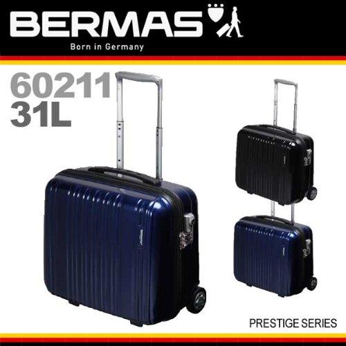 [バーマス]BERMAS スーツケース キャリーバッグ 2輪キャスター 機内持込 31L TSAロック (ネイビー)
