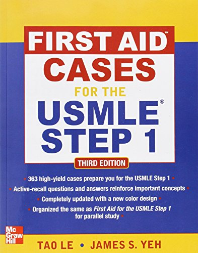 First Aid Cases for the USMLE Step 1, Third Edition (First Aid USMLE) (First Aid Usmle Step 1 2012 compare prices)