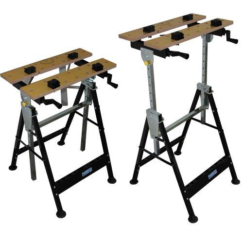 100-kg-Werkbank-Klappbar-hhenverstellbar-Werktisch-Spanntisch-Arbeitstisch