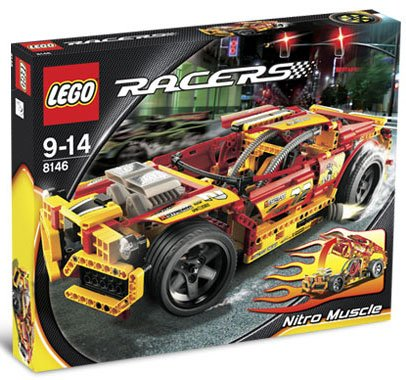 LEGO Racer LEGO 8146 Nitro Muscle parallel import goods (japan import)