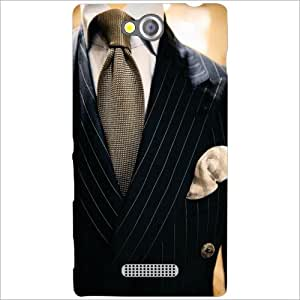 Back Cover For Sony Xperia C (Printland)