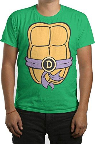 TMNT Teenage Mutant Ninja Turtles Mens Donatello Costume T-shirt S