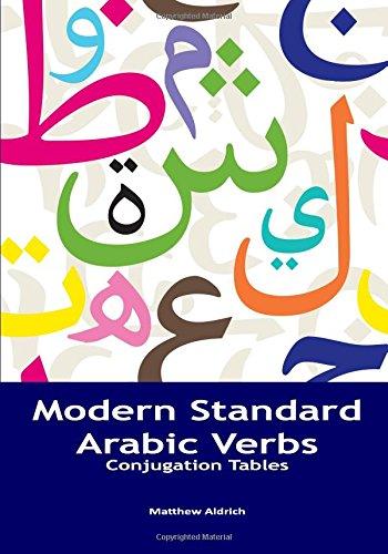 Modern Standard Arabic Verbs: Conjugation Tables