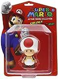 Nintendo 12cm Series 1 Super Mario Bros Action Figure (Toad)