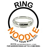 Ring Guard by RING NOODLE (PETITE - less ring size reduction) Ring Size Reducer, Ring Size Adjuster
