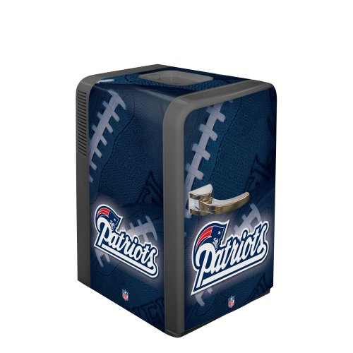 Nfl New England Patriots Portable Party Refrigerator front-498580