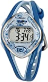 Timex Women's T5K509 Ironman Sleek 50-Lap Blue Resin Strap Watch