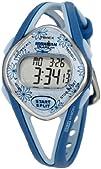 Timex Womens T5K509 Ironman Sleek 50-Lap Blue Resin Strap Watch
