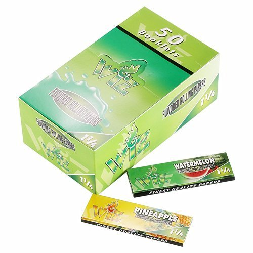 wiz-50-packs-cigarette-flavored-rolling-papers-variety-juicy-fruit-and-honey-flavored-natural-color-