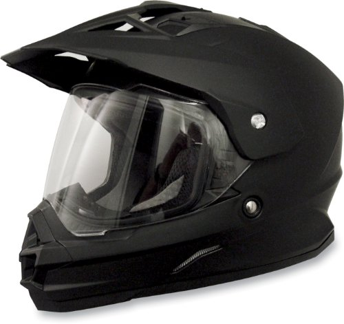Afx Fx-39Ds Dual Sport Motorcycle Helmet Flat Black Ds (2X-Large 0110-2453)