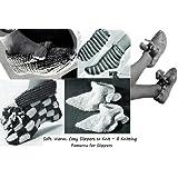 Douces, chaudes, confortables pantoufles � tricoter ~ 5 mod�les de tricot pour des chaussons