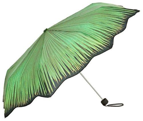 """(ヴォンリリアンフェルド)VON LILIENFELD """"Palm frond""""  ヤシの葉 晴雨兼用 折りたたみ傘"""