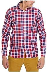 Oshano Men's Casual Shirt (OSH_013_xl, Multi-Coloured, xl)