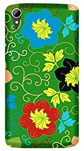 TrilMil Printed Designer Mobile Case Back Cover For HTC Desire 828