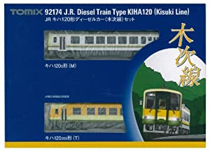 Tomytec TOMIX N gauge 92 174 120 KIHA form diesel car (Kisukisen) set made   in Japan model railroad