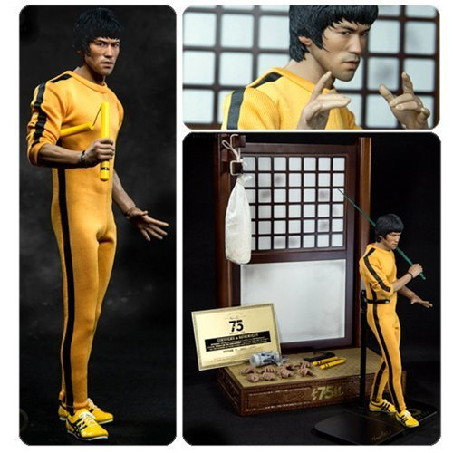 Bruce Lee 75th Anniversary 1:6 Scale Real Masterpiece Action Figure by Bruce Lee