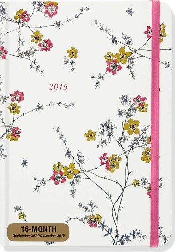 2015 Flowering Vines Weekly Planner (16-Month Engagement Calendar, Diary)