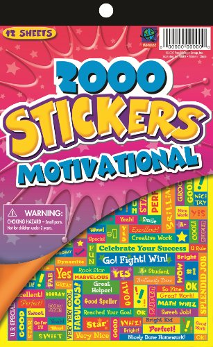 Eureka Stickerbooks -Motivational Learning Playground Sticker Book