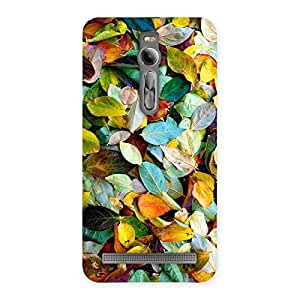 Special Colorfull Leafs Back Case Cover for Asus Zenfone 2