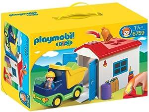 Playmobil - 6759 - Jeu de construction - Camion avec garage