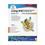 Adams Living Will and Power of Attorney for Healthcare Kit, Forms and Instructions, White (K306)