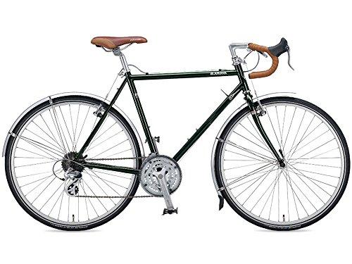 アラヤ(ARAYA) 16'FED フェデラル (3x8s)ツーリングバイク 500mm フォレストグリーン(G) 6156