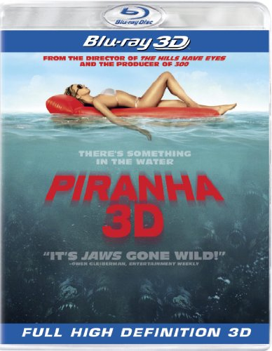 Cover art for  Piranha [Blu-ray 3D]