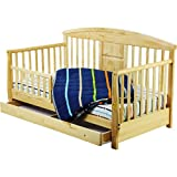 Dream on Me - Deluxe Toddler Day Bed, Natural