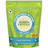 Florida Crystals Organic Powdered Sugar, 16 Ounce (Pack of 6)