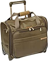 Briggs & Riley @ Baseline Luggage Baseline Rolling Cabin Bag, Olive, Small