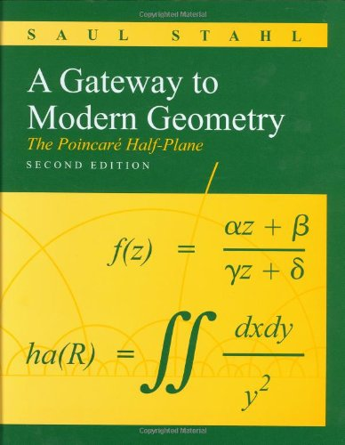 A Gateway to Modern Geometry: The Poincare Half-Plane