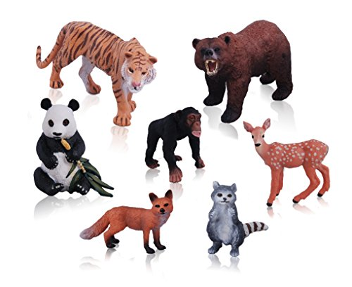 Ericoo Educational Resource High Simulation Jungle Animals Toys -Anim001