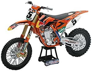 new ray 57633 v hicule miniature mod le l 39 chelle moto cross ktm sxf 450 r dungey. Black Bedroom Furniture Sets. Home Design Ideas