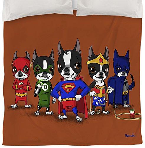 Queen Size Superhero Bedding 3232 front