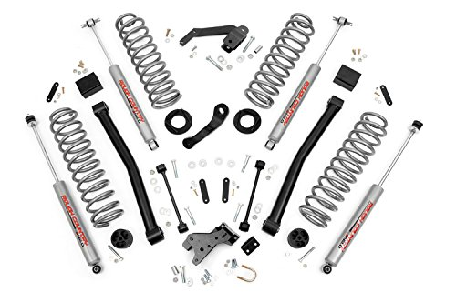 Rough Country - 608S - 3.5-inch Series II Suspension Lift System w/ Premium N2.0 Shocks (Jk Control Arm Drop Bracket compare prices)