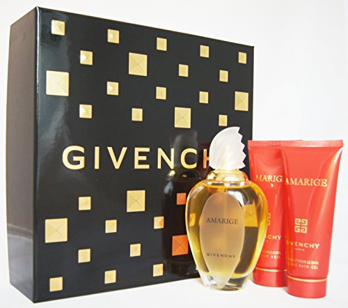 Givenchy Amarige Eau De Toilette Spray 100ml Set 3 Parti