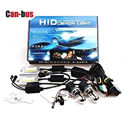 See 12V 35W H4 10000K High / Low Premium Ac Error-Free Canbus Hid Xenon Kit For Headlights Details