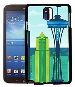 FCS Printed 2D Designer Hard Back Case For Samsung Galaxy Note 3 Design-10053