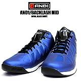 4009 and1 / アンドワン BACKLASH MID バックラッシュ ミッド バスケットボールシューズ バッシュ ブルー (29.0cm)